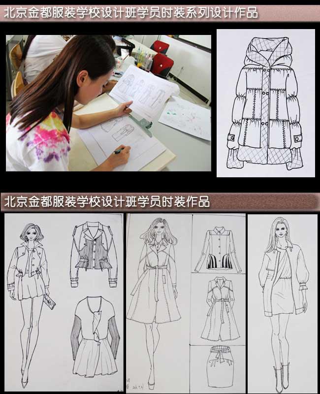绘画透视原理 + 时装画,效果图手绘技法 + 服装色彩 + 服装效果设计
