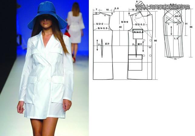 服装结构图裙子