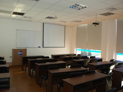 新航道英语学校教室内部