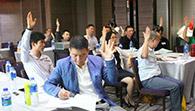沈阳亲子教育培训学员上课图片