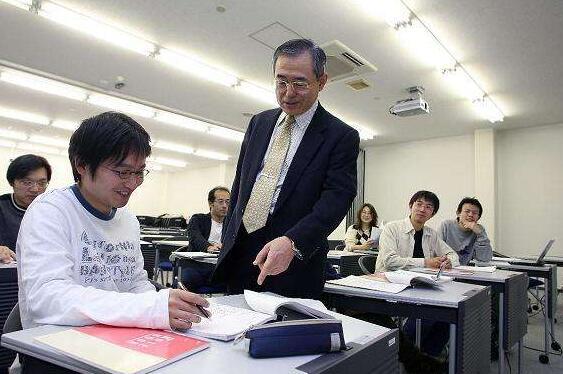 金吉列留学机构分享日本留学生上课图片