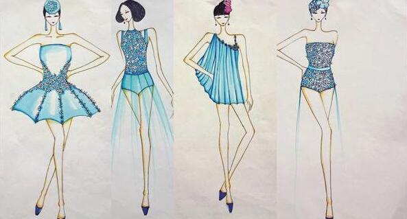 西安服装设计专业艺术留学作品集辅导