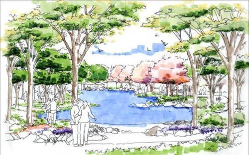 北京大兴区天成景观手绘设计培训