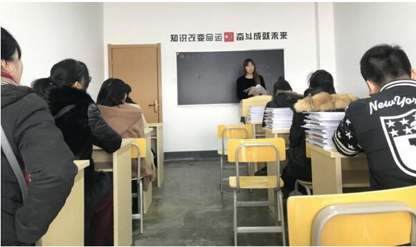 2018年江西壹品教育艺术生文化课开班实况