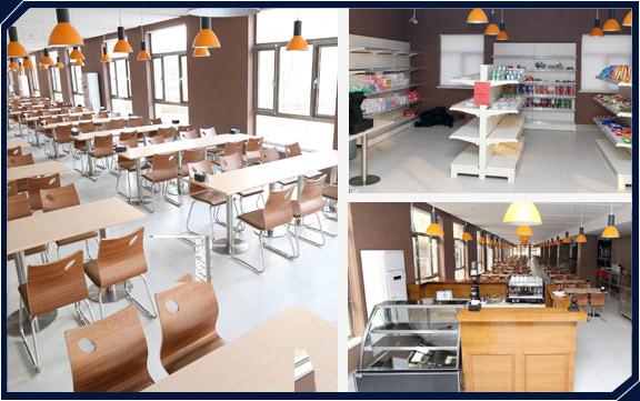 中公会计从业资格考试-宽敞的餐厅
