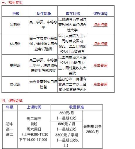 江西2018猫头鹰画室美术素描专业艺考集训班