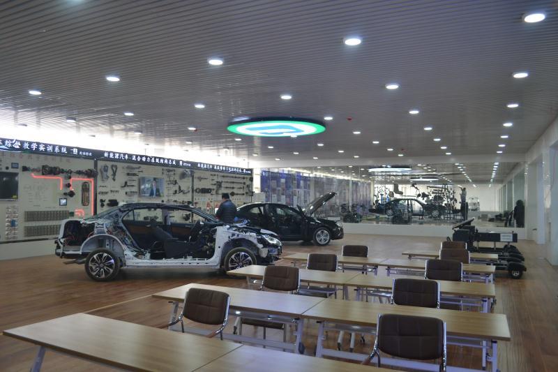 郑州北方汽修-实训车间