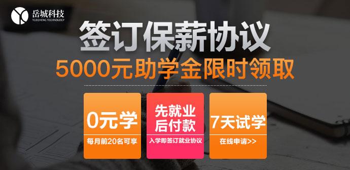 上海岳城科技IT培训