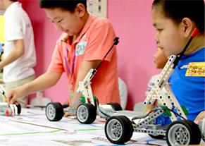 智能机器人编程上课环境