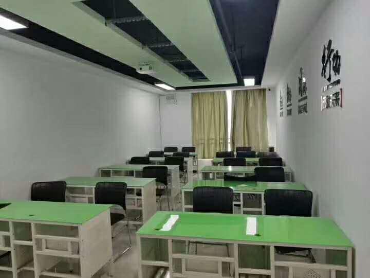 鄭州中欣會計培訓學校上課教室