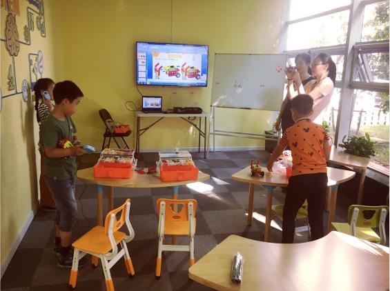 蘇州格物斯坦兒童機器人培訓班