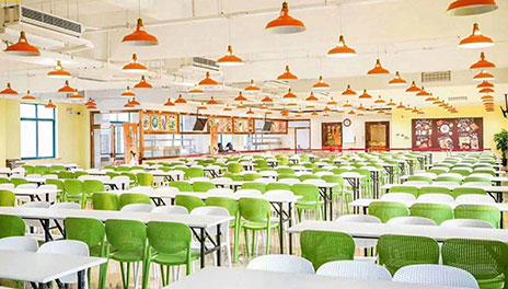 賽普食堂環境