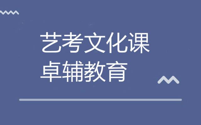 高三艺考文化课程