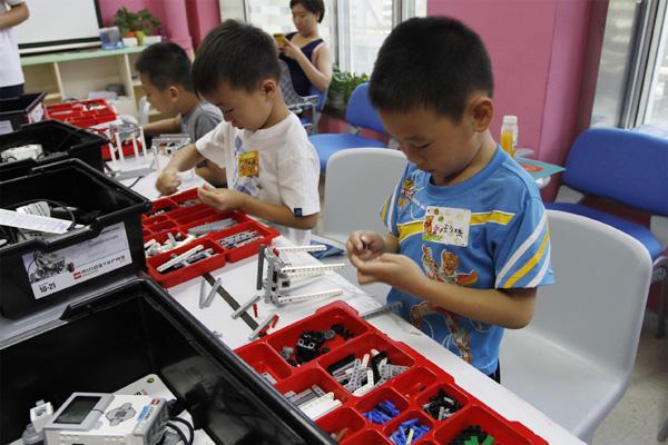 上海儿童机器人编程培训班