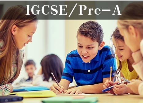 IGCSE/Pre-A