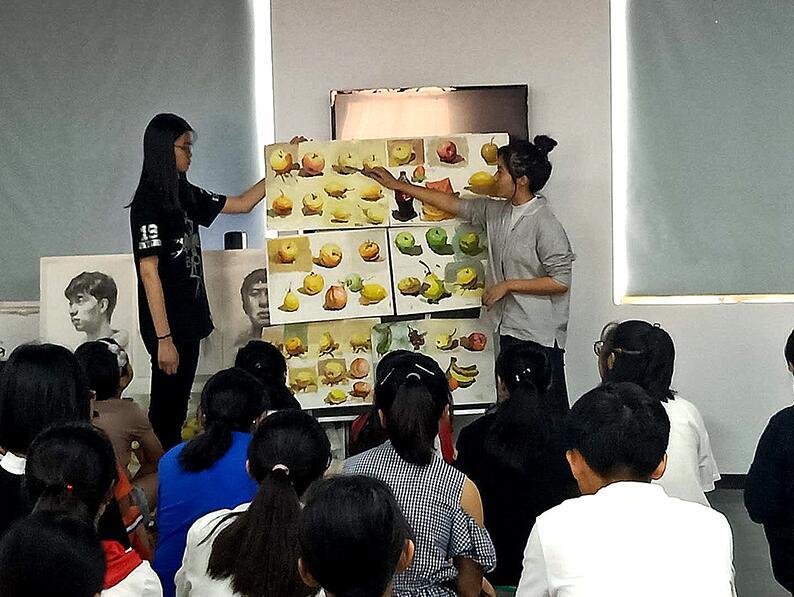郑州高考美术培训寒暑假班