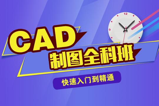 嘉定CAD建筑制图全科班(VIP在线学习)