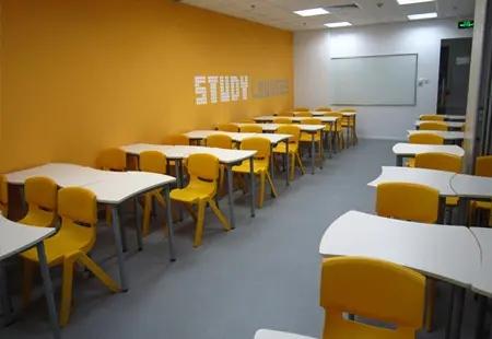 银川学大教育教室环境
